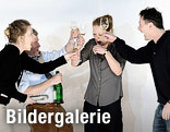 Caroline Peters (Karen), Tilo Nest (Frank), Christiane von Poelnitz (Liz), Peter Knaack (Martin)