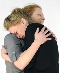 Caroline Peters (Karen) und Christine von Poelnitz (Liz)