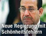 Der irakische Ministerpräsident Nuri al-Maliki