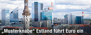 Skyline von Tallinn