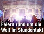 Silvesterfeier in Berlin