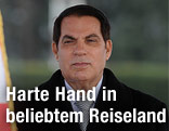 Tunesiens Präsident Zine El Abidine Ben Ali