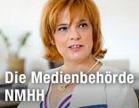 Vorsitzende der NMHH, Annamaria Szalai