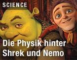 Zeichentrickfigur Shrek