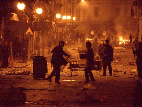 Unruhen in Algiers