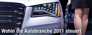 Präsentation des Audi A8L W12