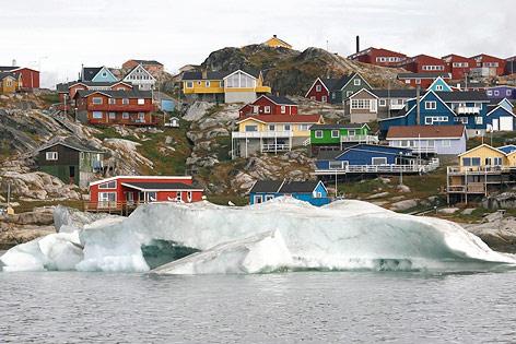 Die grönlaendische Stadt Ilulissat
