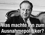 Bruno Kreisky in seiner Funktion als österreichischer Staatssekretär 1959