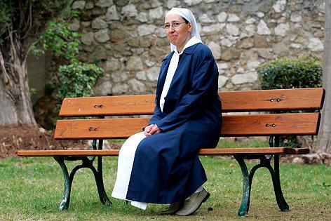 Französische Ordensschwester Marie Simon-Pierre