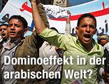 Tunesische Demonstranten