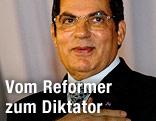 Tunesischer Staatspräsident Zine El Abidine Ben Ali