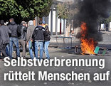 Unruhen in der tunesischen Kleinstadt Sidi Bouzid