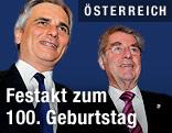 Bundeskanzler Werner Faymann und Bundespräsident Heinz Fischer