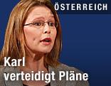 Wissenschaftsministerin Beatrix Karl