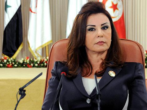 Ehefrau des gestürzten tunesichen Präsidenten Leila Ben Ali