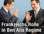Nicolas Sarkozy, Zine El-Abidine Ben Ali