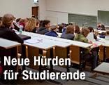 Studenten in einem Hörsaal