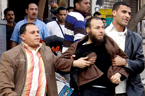 Festnahme bei Demonstration