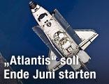 """Raumfähre """"Atlantis"""""""