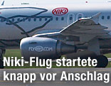 Flugzeug von Fly Niki