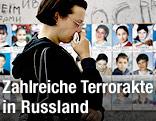 Trauerfeiern für Tote von Beslan
