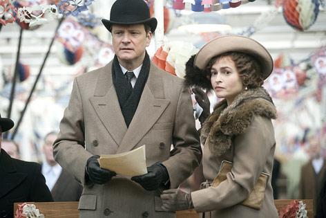 Colin Firth und Helena Bonham Carter im Film The King's Speech