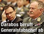 Verteidigungsminister Norbert Darabos (SPÖ) und Generalstabschef Edmund Entacher