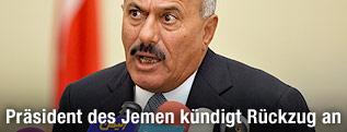 Jemenitischer Präsident Ali Abdullah Saleh