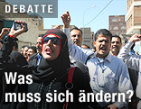Demonstration im Jemen