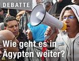 Demonstrantin in Kairo