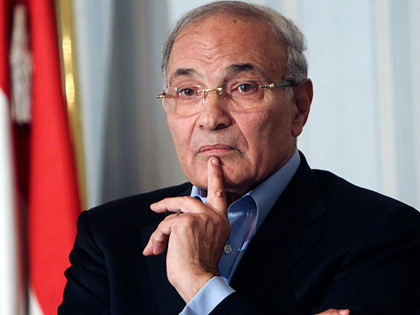 Ministerpräsident. Ahmad Schafik
