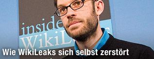 Ehemaliger Wikileaks-Mitarbeiter, Daniel Domscheit-Berg