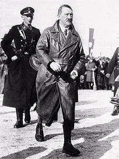Adolf Hitler bei den Olympischen Winterspielen 1936 in Garmisch-Partenkirchen