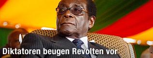 Staatsoberhaupt von Simbabwe Robert Mugabe
