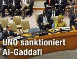 Sitzungsbild des UNO-Sicherheitsrat