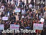Jubel in Tobruk