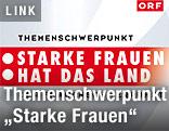 Logo &quot;Starke Frauen hat das Land -<br /> Der Frauenschwerpunkt im ORF&quot;