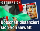 Proteste gegen Muammar Al-Gaddafi
