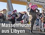Flüchtlinge an lybisch-ägyptischer Grenze