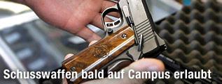 """Eine """"Kimber 1911""""-Pistole"""