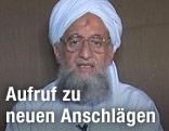 Bin-Laden-Stellvertreter Al-Sawahiri