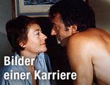 """Schauspielerin Annie Girardot und Jean-Pierre Cassel im Film """"Docteur Francoise Gailland"""", 1975"""