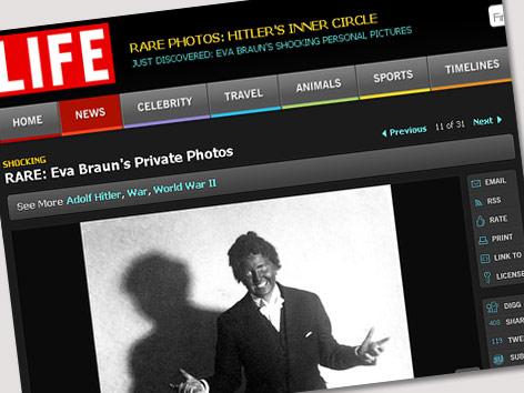 Screenshot von www.Life.com