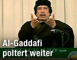 Libyscher Machthaber Muammar al-Gaddafi