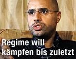 Saif al-Islam, Sohn des libyschen Diktators Muammar al-Gaddafi