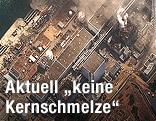 Satellitenbild vom AKW Fukushima I