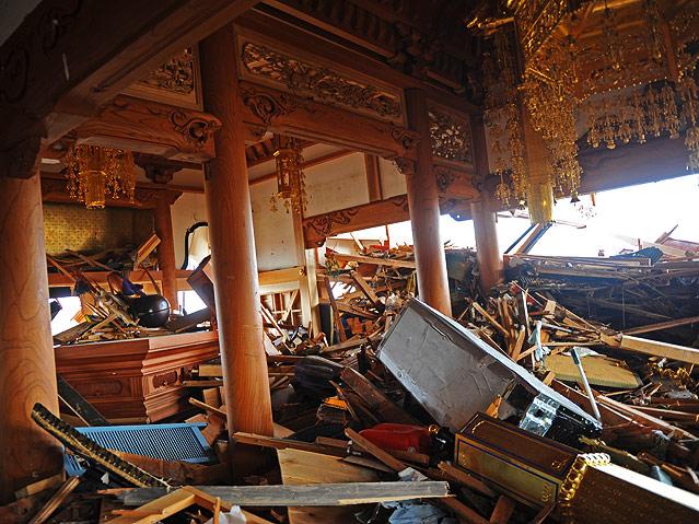 Zerstörter Tempel