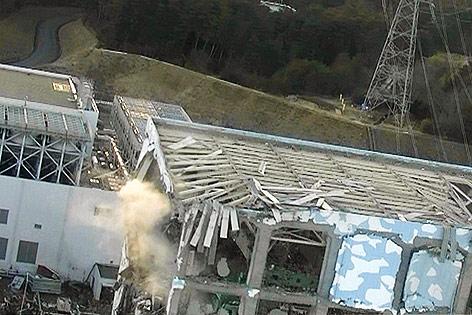 Schäden am Atomkraftwerk Fukushima