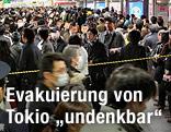 Menschenmassen in Tokyo
