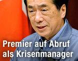 Japans Premier Naoto Kan